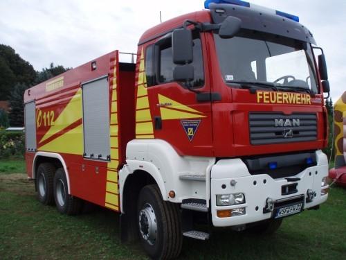 Großtanklöschfahrzeug GTLF 64/95 der Freiwilligen Feuerwehr Zorbau - Das größte Tanklöschfahrzeug im Burgenlandkreis